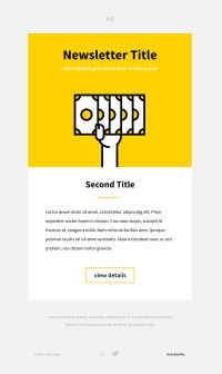 NEWSLETTER / https://dribbble.com/shots/1518379-Newsletter — Designspiration