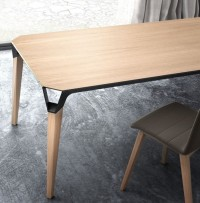 Rectangular wooden table LANA - Willisau | Furniture | Pinterest