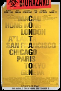 Beautiful Movie Posters #70 - Contagion | Daily Inspiration