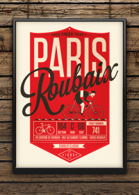 Spring Classic Cycling Prints on