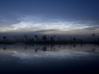 Noctilucent Cloud Picture -- Night Sky Photo -- National Geographic Photo of the Day