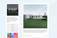 Elegant - Minimalistic Tumblr Theme ~ Tumblr Themes on Creative Market