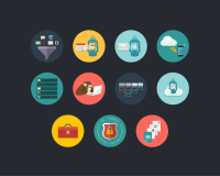 LanternCRM Icons - Icon Sets on Creattica: Your source for design inspiration