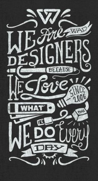 We Are Designers by Javi Bueno | Inspiration DE