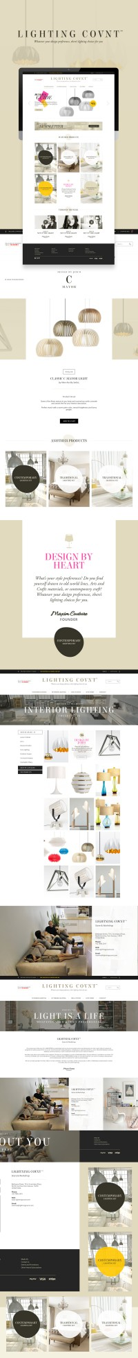 Lighting Covnt™ - Web Interface on