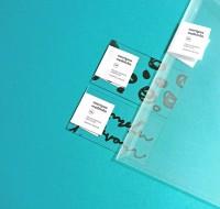 Transparent Business Cards by Martyna Wedzicka – Fubiz™