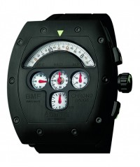 AZIMUTH MECHA-1 CHRONO GAUGE BMF WATCH PVD CASE MODIFIED VALJOUX 7750 AUTO - MECHA- 1 - AZIMUTH