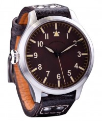 AZIMUTH MILITARE-1 BOMBARDIER VI WATCH VINTAGE ST96-4 HAND WIND LIMITED 200pcs - MILITARE-1 - AZIMUTH