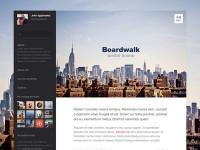 Boardwalk tumblr theme by Pawel Kadysz