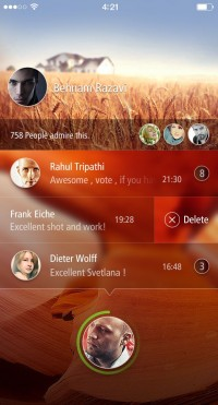 Lockscreen app | Inspiration DE