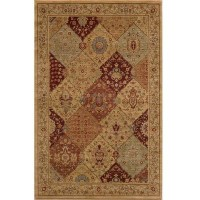 Momeni Buckingham Burgundy 7 ft. 10 in. x 9 ft. 10 in. Area Rug-BE-01 at The Home Depot