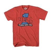 Bell Powersports #1 Red Heather T-Shirt