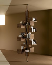 Modern Free Standing Bookcase Designed to Mimic a Tree | Inspiration DE