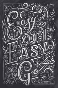 Easy Come Easy Go | Inspiration DE