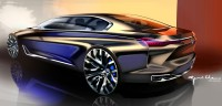 BMW Vision Future Luxury Concept - Design Sketch by Nicolas Guille - Car Body Design
