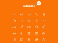 Goodies Icon Set - FreebiesXpress