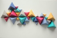 Sunrise Over Sea: Sculpture de triangle | Inspiration DE