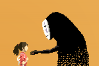 Pixel Art Series pays Tribute to Studio Ghibli Characters