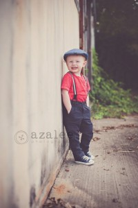 Azalee Photography » urban photo shoot, vintage shoot, little boy, 2 year old photos, downtown Columbia sc, redhead | Inspiration DE