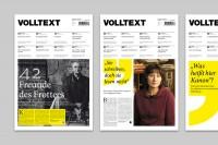 VOLLTEXT - Zeitung für Literatur on