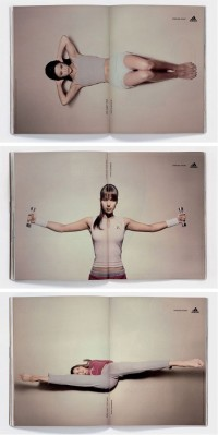 Adidas: Forever Sport double page ads | Inspiration DE