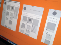 Wireframes by Charlie Waite