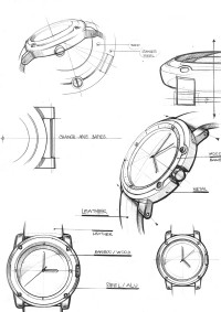 VOOC Watch Design on