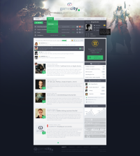 Gamecity – full version by Stanley Haladej | Inspiration DE