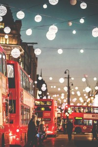 Christmas lights in London | via Tumblr | Captured | Pinterest