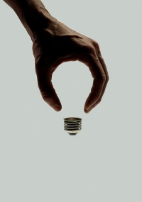 brockdavis:Art for Wired on Flickr.invisible bulb — Designspiration