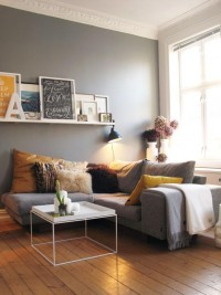 Home / frames, shelf, wall color