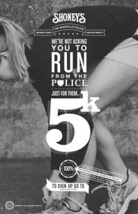 Shoney's 5K Run Poster | Inspiration DE