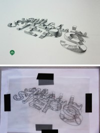 40 Awesome Optical Illusions Using Typography