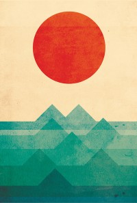 The ocean, the sea, the wave Art Print by Budi Satria Kwan | Inspiration DE