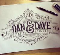 Dan and Dave logo crest | Inspiration DE