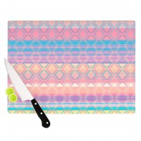 "Nina May ""Denin & Diam New Mexico"" Pastel Cutting Board 
