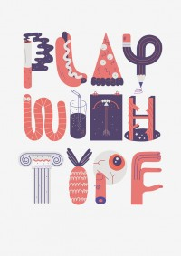 Play with type by Jose Miguel | Inspiration DE