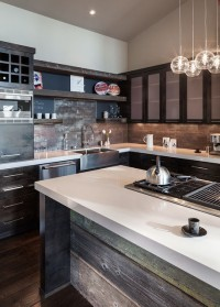 Hilltop House | Grand Vista Subdivision - industrial - kitchen - portland - by Jordan Iverson Signature Homes