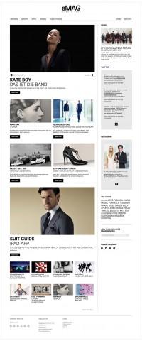 HUGO BOSS, eMAG Online Magazine — WERBEWELT