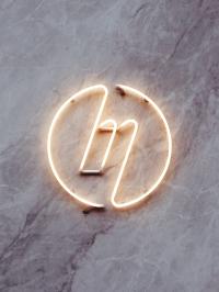 Neon Logo for The Millennium by Ilya Kolganov | Inspiration DE