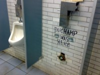 Street Art At Its Best: Duchamp Was Here | Wooster Collective