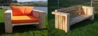 Meubels van houten balken | kwebbeltafels