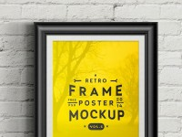 Poster Frame - PSD Mockup Vol 6 - FreebiesXpress