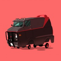 Pop Culture Cars Illustrations – Fubiz™