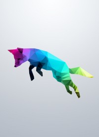 Glass Animal – Flying Fox Art Print by Three Of The Possessed | Society6 | Inspiration DE