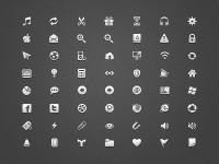 UI icons 16x16 by Dennis Kovalev