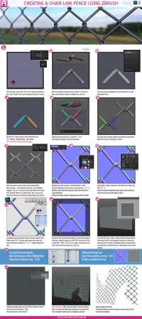 Tutorial : Chain link fence | Art for Games