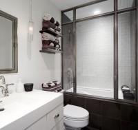 Hudson Loft, NYC - contemporary - bathroom - new york - by SchappacherWhite Architecture D.P.C.