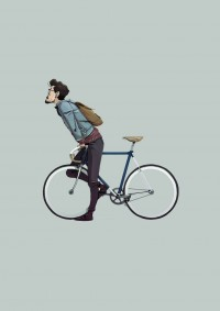 gegofrank: Buona giornata!!! Illustrazioni - i am a dreamer - designbyblack.com