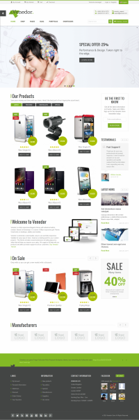 Venedor is Ultimate Multi-Purpose Wordpress Theme that is extremely customizable, easy to use and fully responsive. Suitable for every type of business, portfolio, blog and ecommerce sites. Great as a starting point for your custom projects. Venedor includes 5 different skins and its very beautiful on mobile devices. | Inspiration DE